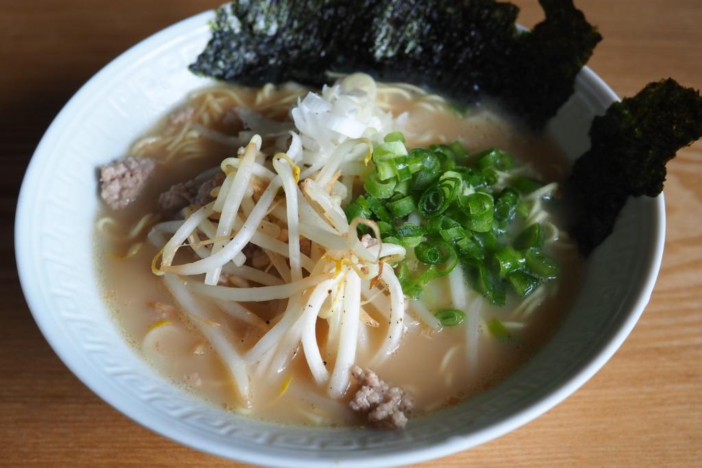 マルちゃん正麺豚骨