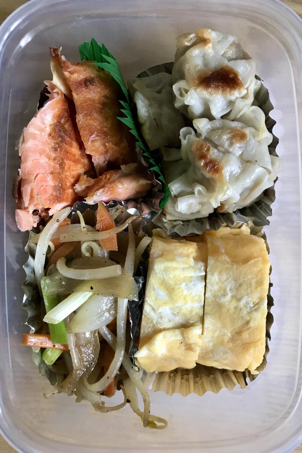 鮭シューマイ弁当