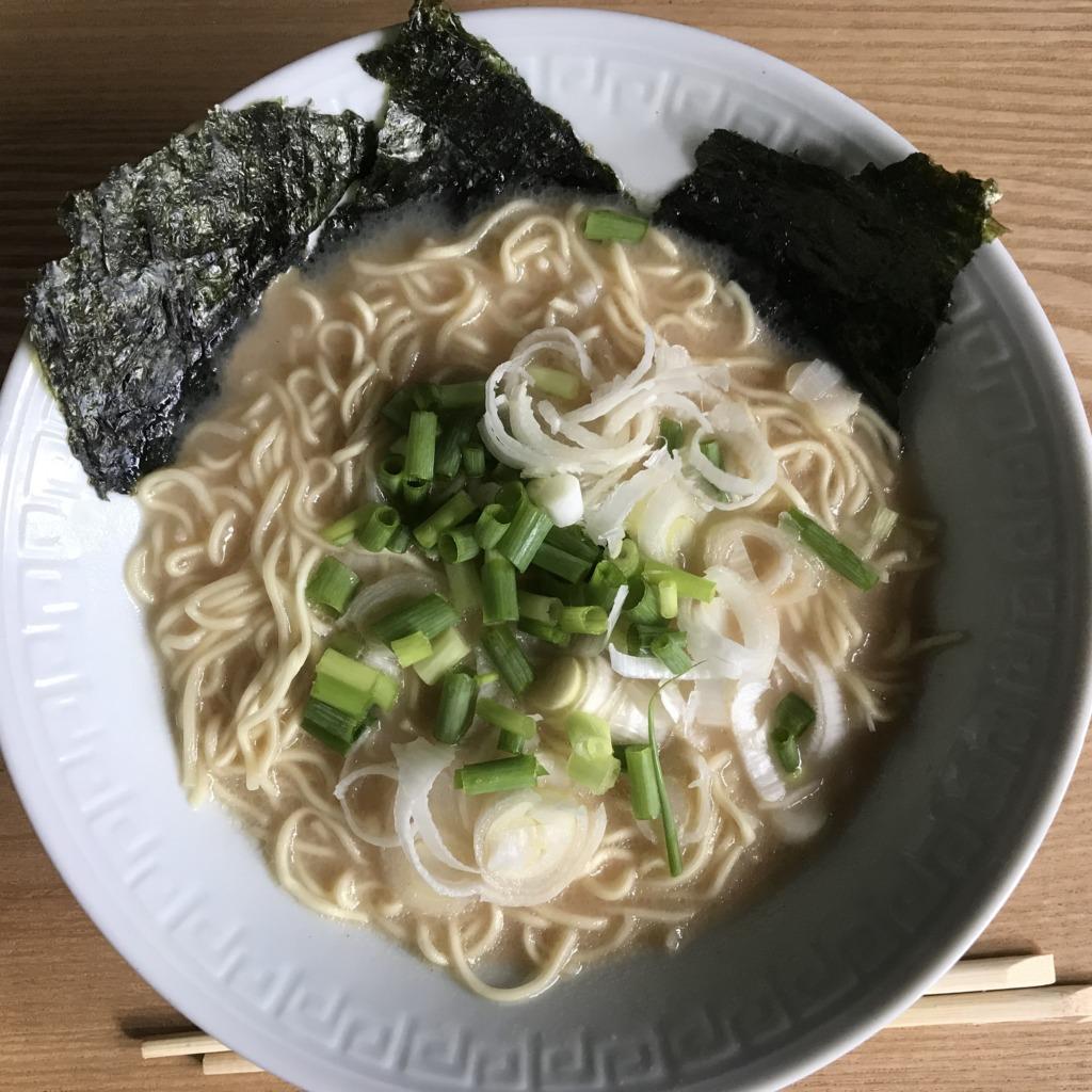 マルちゃん正麺豚骨味
