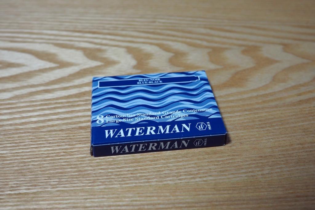 Waterman Blue Black