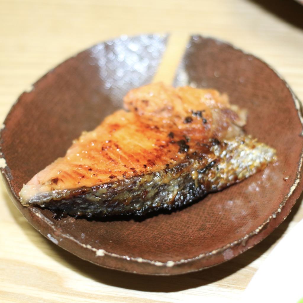 鮭の西京味噌漬け焼き